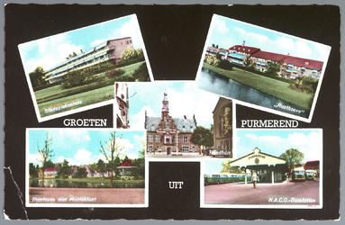 WAT001012419 Stadsziekenhuis                Rusthoeve            Raadhuis  Plantsoen met ...