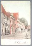 WAT001012424 Achterdijk van Kalversteeg tot aan de Kolkstraat, eerste pand links Logement en uitspanning van de heer ...