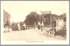 WAT001012442 Beemsterbrug met rechts een brugwachterswoning