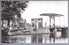 WAT001012448 Beemsterbrug met links de brugwachterswoning en op de achtergrond de Beemsterburgwal