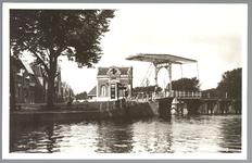 WAT001012449 Beemsterbrug met links de brugwachterswoning em weer links daarvan op de achtergrond de Beemsterburgwal