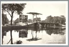 WAT001012453 Beemsterbrug met links de brugwachterswoning