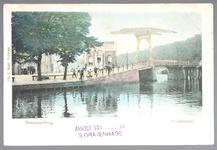 WAT001012447 Beemsterbrug met links daarvan de brugwachterswoning