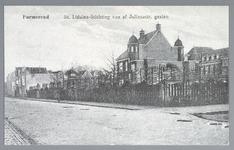 WAT001012518 St. Liduina Stichting. Het gebouw aan de Emmakade is in 1912 gebouwd onder architectuur van de in ...