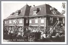 WAT001012529 St. Liduina Stichting. In 1926 werd het complex aan de Emmakade uitgebreid met een nieuw ziekenhuis aan de ...