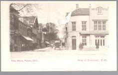 WAT001012551 Het Gouw met links restaurant de Amsterdamse Poort en rechts Restaurant Bellevue van de dames Droog