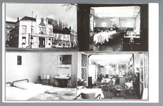 WAT001012559 Hotel-Café-Restaurant Bellevue van M. v/d Woude met verwarmde kamers en koud en warm stromend water