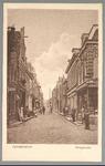 WAT001012606 Hoogstraat met rechts de tabakswinkel van Brinkman en daarnaast een piano winkel