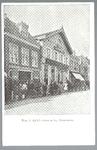 WAT001012547 Links een stalhouderij, daarnaast café restaurant hotel het Heerenlogement