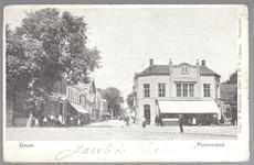 WAT001012553 Het Gouw met links restaurant de Amsterdamse Poort en rechts Restaurant Bellevue van de dames Droog