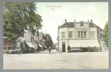 WAT001012555 Het Gouw met links restaurant de Amsterdamse Poort daarnaast een stalhouderij, vervolgens hotel het ...