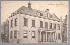 WAT001012716 Het oude Stadhuis te Purmerend, afgebroken in 1911. Het gebouw is eerder tweemaal verbouwd en in 1633 door ...