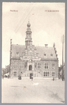 WAT001012724 Stadhuis van Purmerend, gebouwd in neo-renaissancistisch in de jaren 1911-1912 naar ontwerp van architect ...