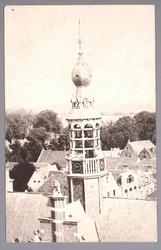 WAT001012726 Torenspits van het stadhuis van 1912
