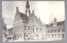 WAT001012720 Stadhuis van Purmerend, gebouwd in neo-renaissancistisch in de jaren 1911-1912 naar ontwerp van architect ...