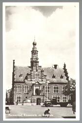 WAT001012746 Stadhuis van Purmerend, gebouwd in neo-renaissancistisch in de jaren 1911-1912 naar ontwerp van architect ...