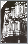WAT001012762 Het beroemde Garrels-orgel van Rudolf Garrels uit 1742. Nadat de vorige Hervormde kerk was gesloopt en in ...