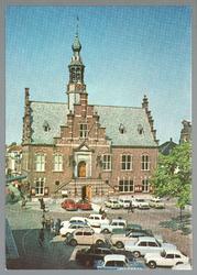 WAT001012766 Stadhuis van Purmerend, gebouwd in neo-renaissancistisch in de jaren 1911-1912 naar ontwerp van architect ...