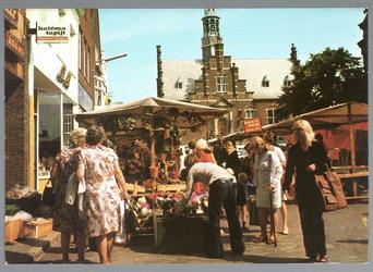 WAT001012767 Warenmarkt op de Kaasmarkt te Purmerend