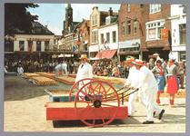 WAT001012769 Kaasmarkt voor de toeristen