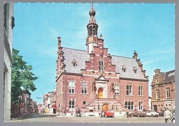 WAT001012770 Stadhuis van Purmerend, gebouwd in neo-renaissancistisch in de jaren 1911-1912 naar ontwerp van architect ...