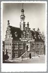 WAT001012771 Stadhuis van Purmerend, gebouwd in neo-renaissancistisch in de jaren 1911-1912 naar ontwerp van architect ...