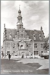 WAT001012772 Stadhuis van Purmerend, gebouwd in neo-renaissancistisch in de jaren 1911-1912 naar ontwerp van architect ...