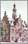 WAT001012773 Stadhuis van Purmerend, gebouwd in neo-renaissancistisch in de jaren 1911-1912 naar ontwerp van architect ...