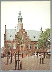 WAT001012775 Stadhuis van Purmerend, gebouwd in neo-renaissancistisch in de jaren 1911-1912 naar ontwerp van architect ...