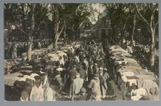WAT001012827 Koemarkt. Op de kop van de koemarkt verhandelde men al sinds 1612 koeien, ossen, paarden, varkens en ...