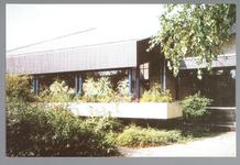 WAT001012839 Taborkerk, gebouwd in 1970 in opdracht van destijds drie kerkgenootschappen: de Hervormde Gemeente, de ...