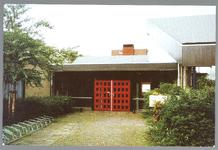 WAT001012841 Taborkerk, gebouwd in 1970 in opdracht van destijds drie kerkgenootschappen: de Hervormde Gemeente, de ...
