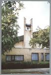 WAT001012842 Taborkerk, gebouwd in 1970 in opdracht van destijds drie kerkgenootschappen: de Hervormde Gemeente, de ...