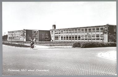 WAT001012852 ULO school aan de Johanna Naberstraat 218, aanvraag bouwvergunning van deze school was op 1 januari 1962.