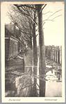WAT001012858 Als gevolg van een zware noordwester storm brak in januari 1916 de Waterlandse Zeedijk tussen Monnickendam ...