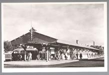 WAT001013047 NACO busstation. De NACO (Nederlandsche Auto Car Onderneming) breidde erg uit tussen 1924 en 1946.Ze namen ...