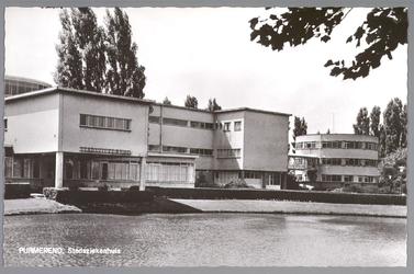 WAT001012982 Het Stadsziekenhuis ontworpen door de Purmerendse architecten Jan Plas en Corn.Koning en gebouwd door ...