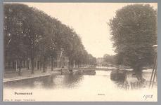 WAT001013074 De Where met op de voorgrond de Bierstekersbrug en links de Bierkade met op de achtergrond de Venedien.