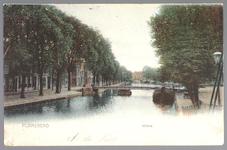 WAT001013076 De Where met op de voorgrond de Bierstekersbrug en links de Bierkade met op de achtergrond de Venedien