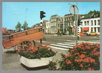 WAT001013110 Gedempte Where met op de voorgrond de bakkerskar van bakker Rozemeijer en daar achter een stukje van de ...