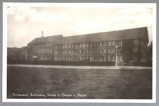 WAT001013131 De Vereeniging van Hervormde Diaconieën in de Cassis Edam is opdrachtgever van dit in 1934-1935 onder ...