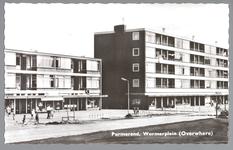WAT001013136 Winkelcentrum Wormerplein, op 1 januari 1960 zijn de eerste bouwvergunningen verleend voor het Wormerplein.