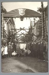 WAT001013161 Najaarfeesten georganiseerd door Tovletem en later comité Marktstad. Erepoort Padjedijk /Kaasmarkt.Tweede ...