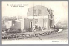 WAT001013190 Mosterdfabriek v.h.f. J.Martens. De fabriek stond in de Overwheerse polder.