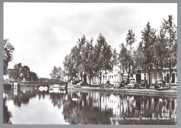 WAT001013086 De Where met links de Bierstekersbrug en rechts de Venediën.