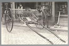 WAT001013193 J.P.Mirk te Purmerend winkel in landbouwgereedschap.De meest volmaakte paardenhooihark prijs fl. 135,-