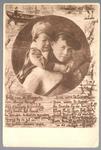 WAT001013225 Als gevolg van een zware noordwester storm brak in januari 1916 de Waterlandse Zeedijk tussen Monnickendam ...