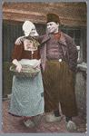 WAT001013320 Afbeelding van twee Volendamse mensen.