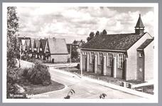 WAT001013692 De Gereformeerde Kerk, gebouwd in 1950.