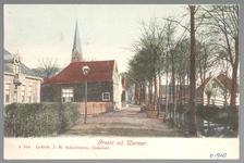 WAT001013750 Dorpsstraat meg wegsloot tussen Ziekenhuis en r.k. kerk